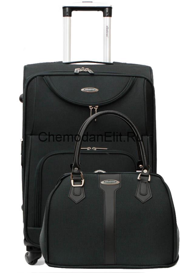 613cc72adb3a Купить чемодан со съемными колесами тканевый + сумка, интернет ...